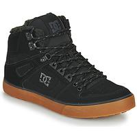 Topánky Muži Členkové tenisky DC Shoes PURE HT WC WNT M Čierna