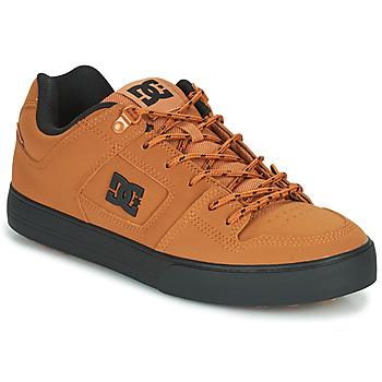 Topánky Muži Nízke tenisky DC Shoes PURE WNT Hnedá