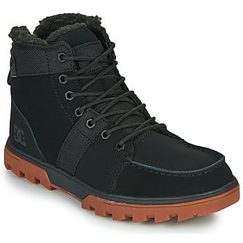 Topánky Muži Polokozačky DC Shoes WOODLAND Čierna