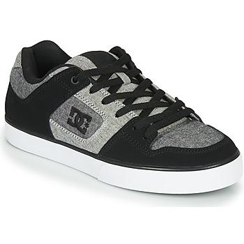 Topánky Muži Nízke tenisky DC Shoes PURE Čierna / Šedá