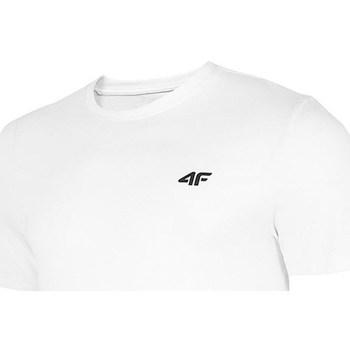 Oblečenie Muži Tričká s krátkym rukávom 4F TSM003 Biela