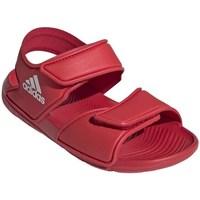 Topánky Deti Sandále adidas Originals Altaswim C Červená