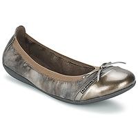 Topánky Ženy Balerínky a babies Les P'tites Bombes CAPRICE METAL šedá