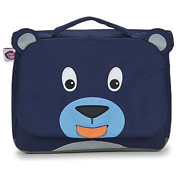 Tašky Deti Školské tašky a aktovky Affenzahn BOBO BEAR Námornícka modrá