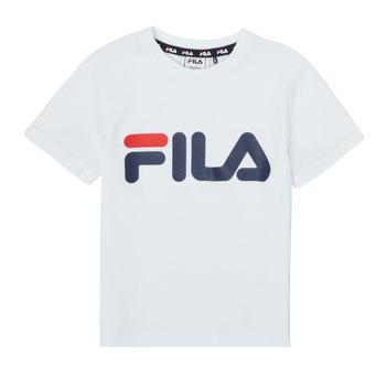 Oblečenie Deti Tričká s krátkym rukávom Fila LEA Biela