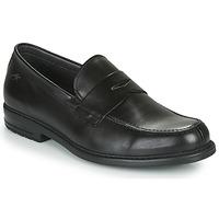 Topánky Muži Mokasíny Fluchos SIMON Čierna