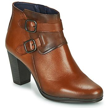 Topánky Ženy Čižmičky Dorking JIN Hnedá