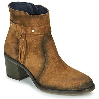 Topánky Ženy Čižmičky Dorking AMBRA Hnedá