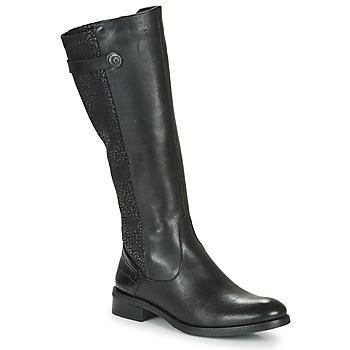 Topánky Ženy Čižmy do mesta Dorking TIERRA Čierna