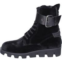 Topánky Ženy Čižmičky Roberto Botticelli Členkové Topánky BM116 Čierna