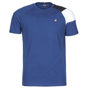 Oblečenie Muži Tričká s krátkym rukávom Le Coq Sportif ESS TEE SS N°10 M Modrá