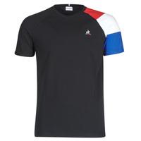 Oblečenie Muži Tričká s krátkym rukávom Le Coq Sportif ESS TEE SS N°10 M Čierna