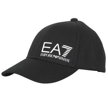 Textilné doplnky Muži Šiltovky Emporio Armani EA7 TRAIN CORE ID M LOGO CAP Čierna
