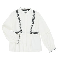 Oblečenie Dievčatá Košele a blúzky Ikks XR12022 Biela