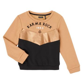 Oblečenie Dievčatá Mikiny Ikks XR15012 Hnedá