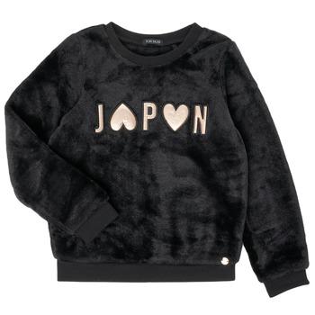 Oblečenie Dievčatá Mikiny Ikks XR15042 Čierna