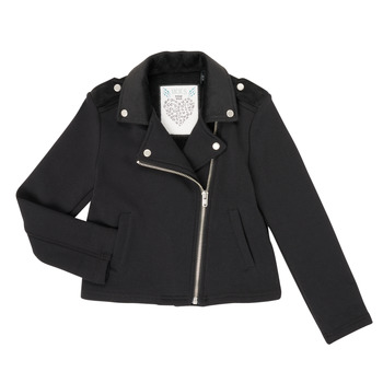 Oblečenie Dievčatá Cardigany Ikks XR17002 Čierna