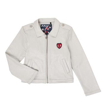 Oblečenie Dievčatá Cardigany Ikks XR17032 Šedá