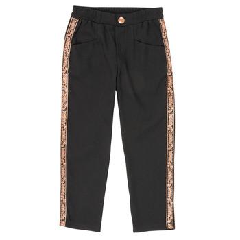 Oblečenie Dievčatá Nohavice päťvreckové Ikks XR22012 Čierna