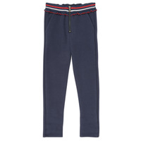 Oblečenie Dievčatá Nohavice päťvreckové Ikks XR23002 Modrá
