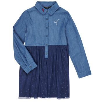Oblečenie Dievčatá Krátke šaty Ikks XR30122 Modrá