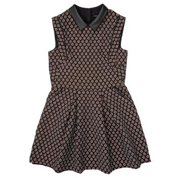 Oblečenie Dievčatá Krátke šaty Ikks XR30212 Čierna