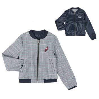 Oblečenie Dievčatá Bundy  Ikks XR40012 Modrá