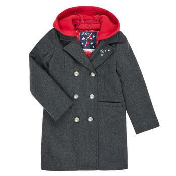 Oblečenie Dievčatá Kabáty Ikks XR44012 Šedá