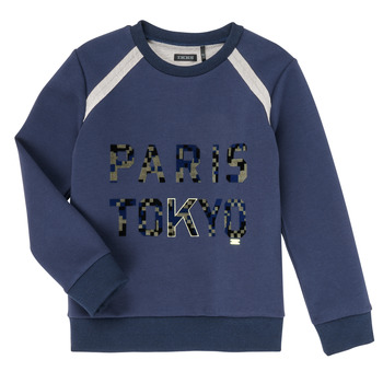 Oblečenie Chlapci Mikiny Ikks XR15093 Modrá