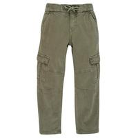 Oblečenie Chlapci Nohavice Cargo Ikks XR22033 Kaki