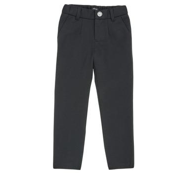 Oblečenie Chlapci Nohavice päťvreckové Ikks XR23023 Čierna