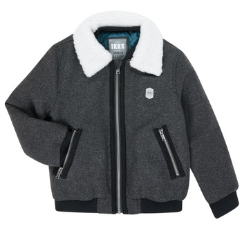 Oblečenie Chlapci Bundy  Ikks XR40083 Šedá