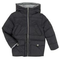 Oblečenie Chlapci Vyteplené bundy Ikks XR41053 Čierna