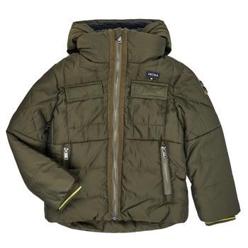 Oblečenie Chlapci Vyteplené bundy Ikks XR41123 Hnedá