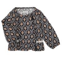 Oblečenie Dievčatá Košele a blúzky Ikks XR12020 Čierna