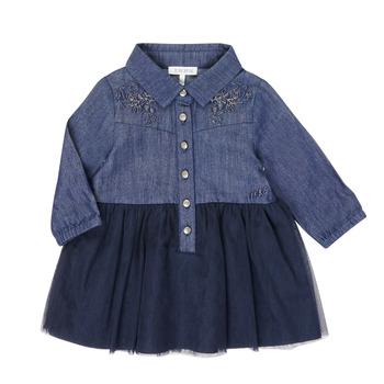 Oblečenie Dievčatá Krátke šaty Ikks XR30150 Modrá