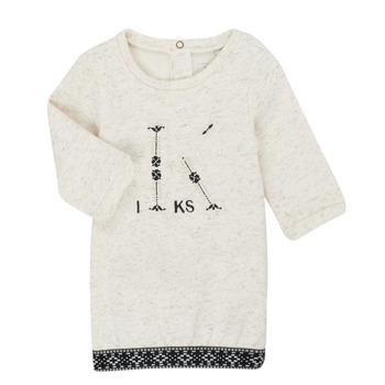 Oblečenie Dievčatá Krátke šaty Ikks XR30180 Béžová