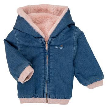 Oblečenie Dievčatá Bundy  Ikks XR40020 Modrá