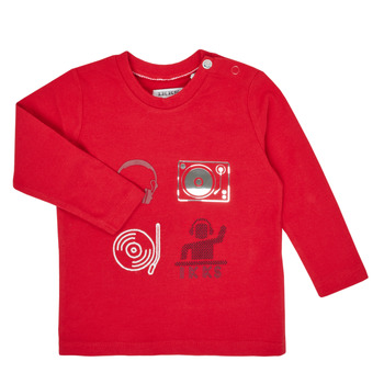 Oblečenie Chlapci Tričká s dlhým rukávom Ikks XR10011 Červená