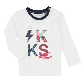 Oblečenie Chlapci Komplety a súpravy Ikks XR36001 Biela
