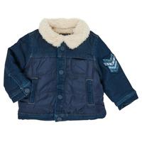 Oblečenie Chlapci Bundy  Ikks XR40031 Modrá
