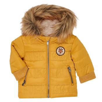 Oblečenie Chlapci Vyteplené bundy Ikks XR41021 Žltá