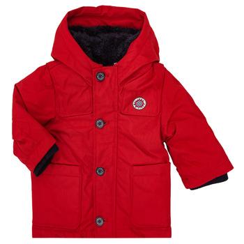 Oblečenie Chlapci Parky Ikks XR42001 Červená