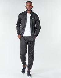 Oblečenie Muži Súpravy vrchného oblečenia Emporio Armani EA7 TRAIN CORE ID M T-SUIT TT FZ CH PL Čierna