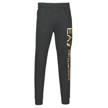 Oblečenie Muži Tepláky a vrchné oblečenie Emporio Armani EA7 TRAIN LOGO SERIES M PANTS Čierna