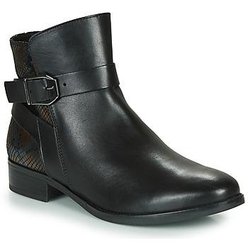 Topánky Ženy Polokozačky Caprice 25331-045 Čierna