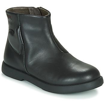 Topánky Dievčatá Polokozačky Camper DTT1 Čierna