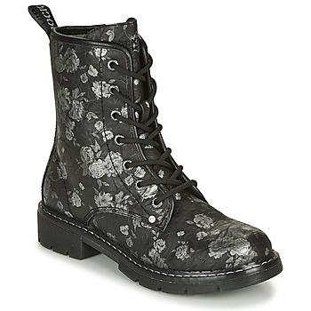 Topánky Ženy Polokozačky Dockers by Gerli 45PN201 Čierna