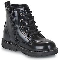 Topánky Dievčatá Polokozačky Chicco COLLES Čierna