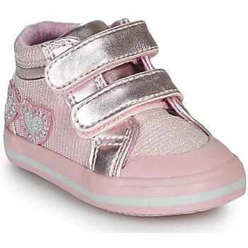 Topánky Dievčatá Členkové tenisky Chicco GEORGIAN Ružová